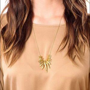 Gorjana Adjustable Gold Necklace NWT $88